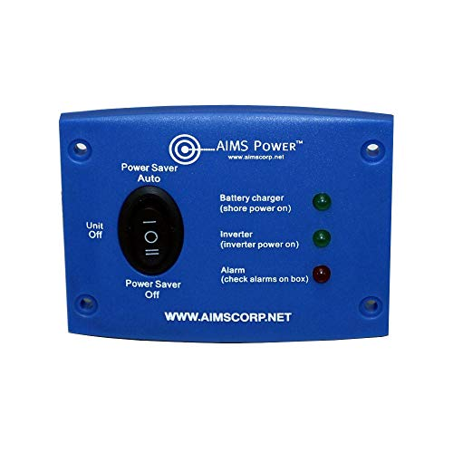 AIMS Power LED Remote Panel for Inverter Chargers Only