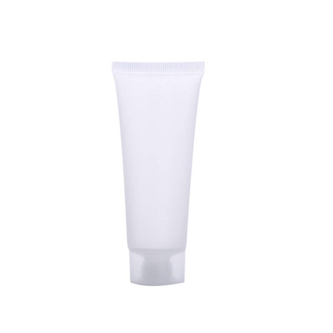 スキップ自分の慣性5本×10ml コンテナ化粧品 美容化粧道具 アクセサリー 空のチューブ リップグロス 口紅日焼け止め容器