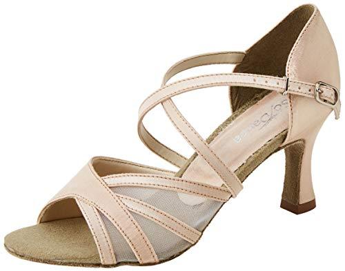 So Danca Bl162 Zapatos de baile de sociedad y latina Mujer, Beige (Champagne Black/Champagne), 35/35.5 EU (3 UK)