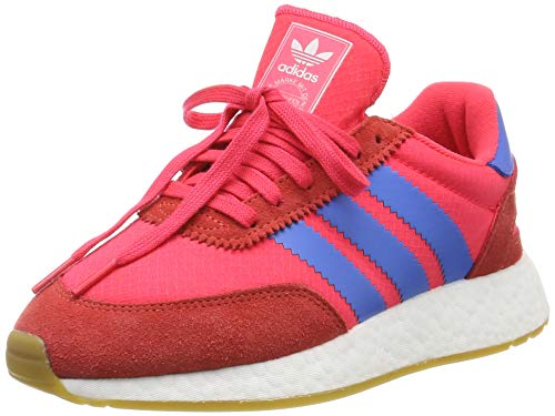 adidas Damen I-5923 Gymnastikschuhe Rot (Shock Red/True Blue/Gum 3), 42 EU