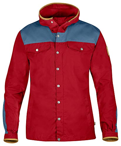 Fjallraven, Men's Greenland No. 1 Special Edition, Deep Red/Uncle Blue, X-Small