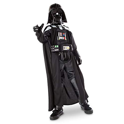 STAR WARS Darth Vader Costume with Sound for Boys, Size 3 Black