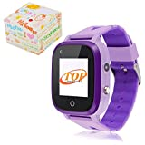4G Smart Watch for Kids - IP67 Waterproof Kids GPS Watch LBS Tracker Wrist Children's Smartwatch 1.3 Touchscreen with SOS Flashlight Two Way Call Voice Chat Alarm Camera,Birthday Gifts for 3-12Y