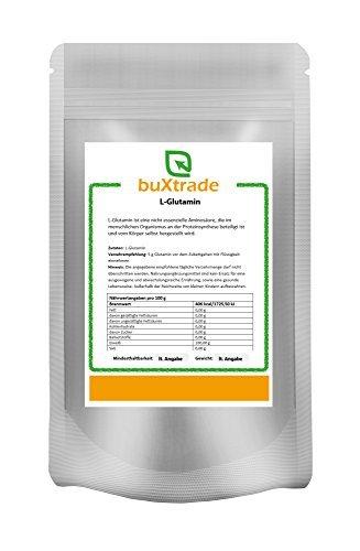 250 g L-Glutamin   Aminosäure Glutamine   Eiweiss   Sport  