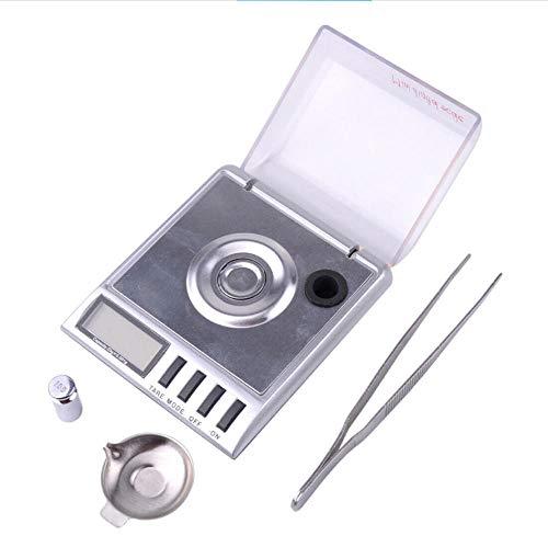 Báscula electrónica 20g0.001g quilate de alta precisión que pesa joyería de oro escala de joyería escala de gramo portátil de precisión
