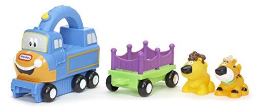 little tikes- Bebés y Primera infanciaJuguetes para arrastrarLITTLE TIKESHandle Haulers Deluxe Big Top Charlie, Multicolor (1)
