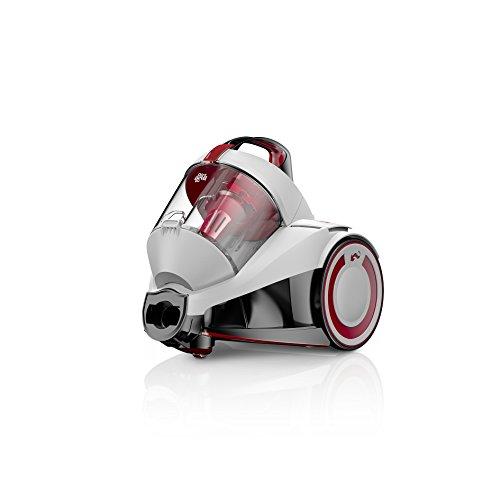 Dirt Devil DD2224-0 rebel24HE Singlecyclone Staubsauger EEK A (700 W Hocheffizienzmotor, 1,8 L, HEPA Media Ausblasfilter, 3-in-1 Kombidüse am Schlauch, ohne Beutel) polarweiß