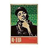 DNJKSA Q-Tip A Tribe Called Quest Music Singer Poster Hip