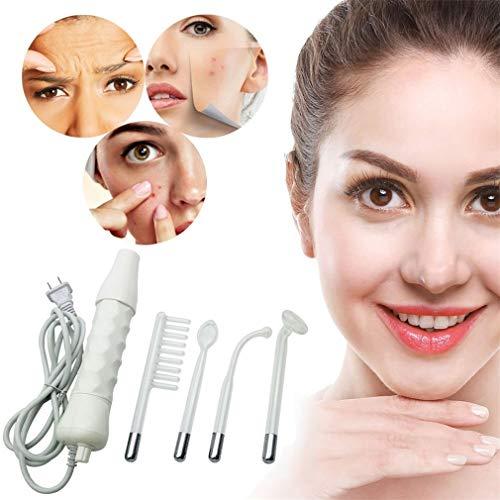 La machine faciale à haute fréquence/le dispositif tenu dans la main portatif pour des soins de peau soin corps thérapie beauté réduisent l'acné ride les lignes fines yeux gonflés
