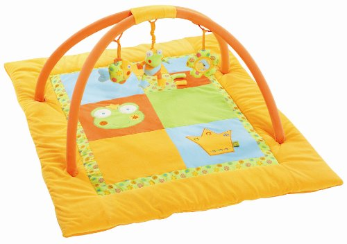 Fehn 092554 3-D-Activity-Decke Frosch 85 x 100 cm
