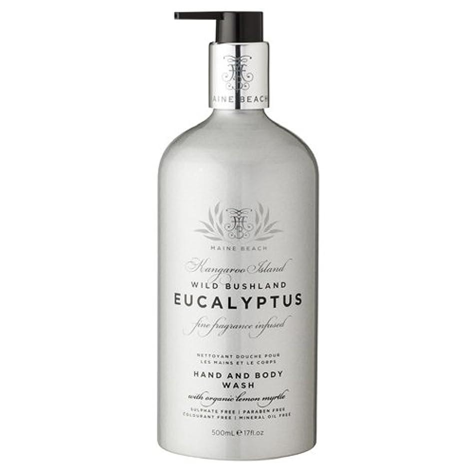 回るアラスカクレデンシャルMAINE BEACH マインビーチ Eucalyptus Series ユーカリオイル ハンド&ボディウォッシュ