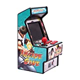 EASEGMER 16 Bit Mini Arcade Game Machines for Kids with 156 Classic Handheld Video Games, 2.8 Inches Travel Portable Gaming Electronic Toys Novelty Gift for Boys and Adults- Blue