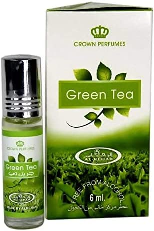 Green Tea Perfume Oil by Al Rehab 6ml product image