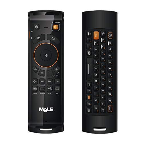 Juego del ratón, teclado para juegos, mouse pad Control Remoto Mini teclado QWERTY sin hilos de Mele F10 Deluxe 2.4GHz Fly Air ratón sin hilos del teclado con la función de IR for Android TV Box / Not