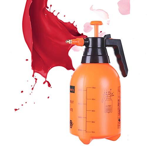 2L Pump Action drukspuit fles, Lege Plastic Mist Spray flessen met verstelbare mondstuk voor het uitzuigen Gardening Feeding