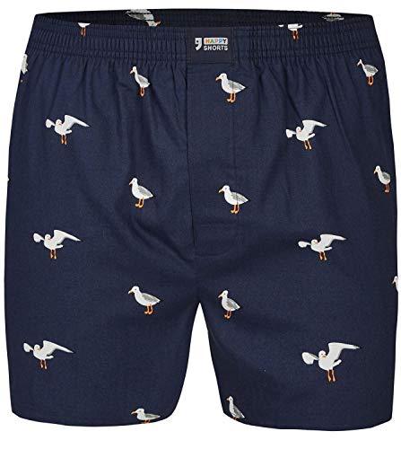 Happy Shorts Webboxer Herren Boxer Motiv Boxershorts Farbwahl, Grösse:L, Präzise Farbe:Design 16