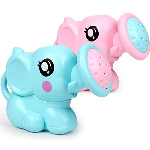 HaiQianXin Niños Que nadan Juguete de baño Elefante Riego Olla Bañera Juguete Divertido para niños Niños Que se duchan