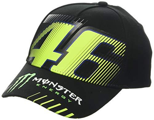 Valentino Rossi Vr46 Cap Monza 46 Monster Unisex - Erwachsene, schwarz, Einheitsgröße