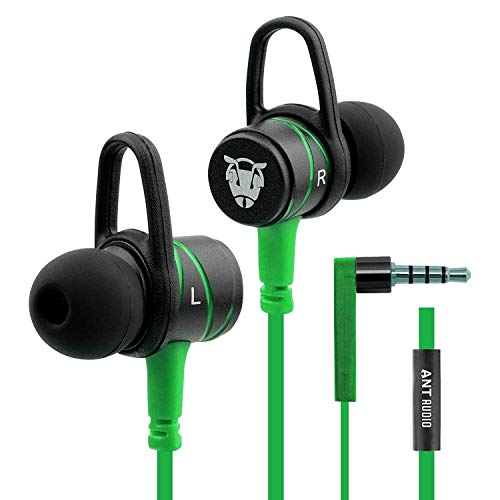 Ant Audio W56 Metal Wired Earphone with Mic (Green)
