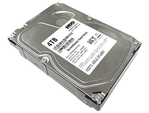 MaxDigitalData 4TB 64MB Cache 5900PM SATA 6Gbps 3.5inch Internal Surveillance Hard Drive (MD4000GSA6459DVR) (Renewed)