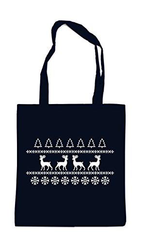 X-Mas Deer Bag Black Certified Freak