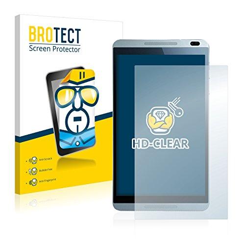 BROTECT Schutzfolie kompatibel mit Huawei MediaPad M1 (2 Stück) klare Bildschirmschutz-Folie