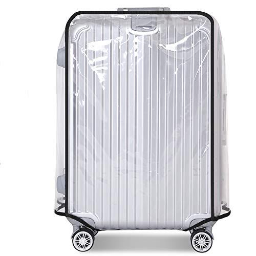 Cubierta de Maleta de PVC Transparente, Cubierta de Equipaje a Prueba de Polvo Cubierta de Funda de Carretilla a Prueba de Polvo a Prueba de arañazos Funda de Protector de Maleta para Viaje (30