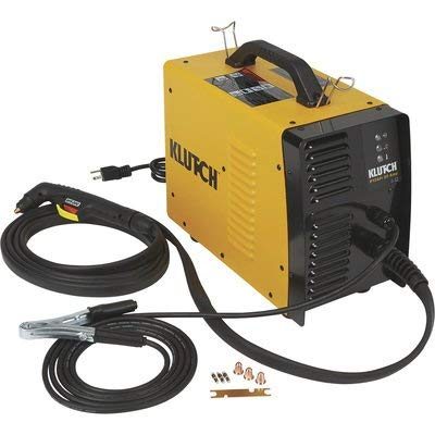 Klutch Plasma Cutter with Built-In Air Compressor - Inverter, 120V, 12...
