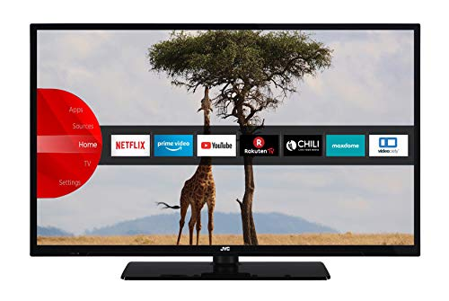 JVC LT-32V55LHA 81 cm / 32 Zoll Fernseher (Smart TV inkl. Prime Video / Netflix / YouTube, HD-Ready, Bluetooth, Triple-Tuner)
