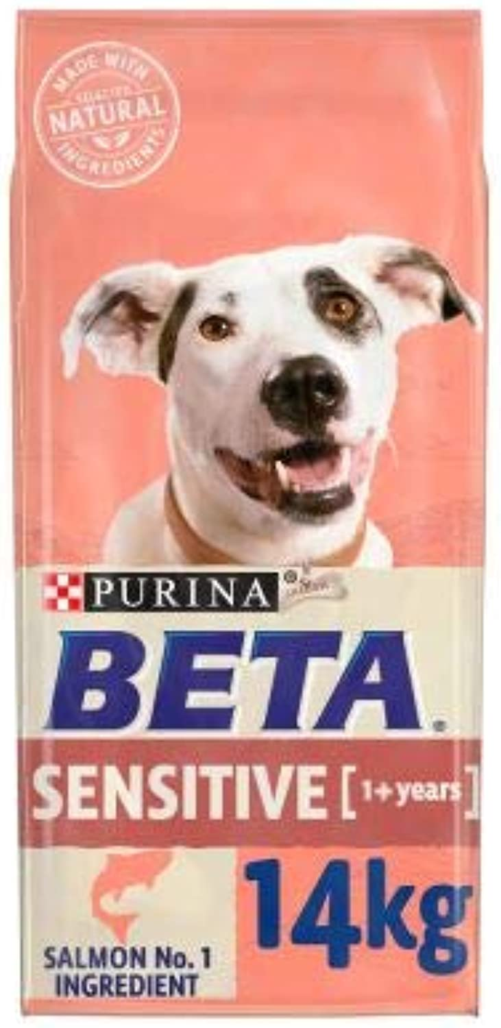 BETA Adult Sensitive Ensure that sensitive skin & digestion are not spoiling your dog's nutrition Economy Pack  2 x 14kg