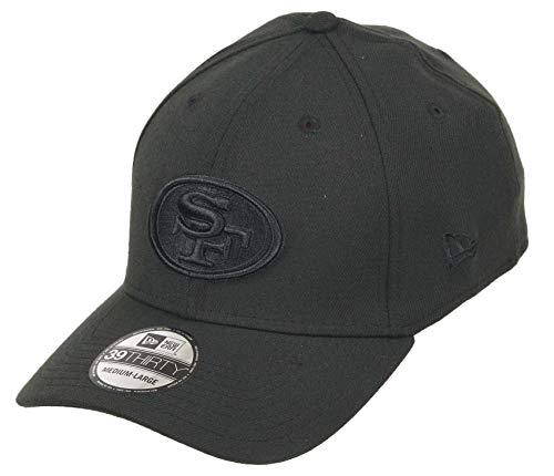 New Era San Francisco 49ers 39thirty Stretch Cap NFL Bob Edition Black - M - L