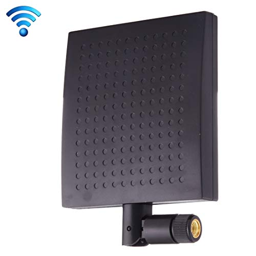 CHDENUO 12dBi SMA Male Connector 2.4GHz Panel WiFi Antenna(Black)...