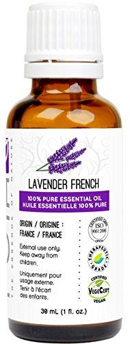 Huile essentielle de lavande (français)–Gcms testés, 100% pur, PUR et de qualité thérapeutique, 30 ml, 1