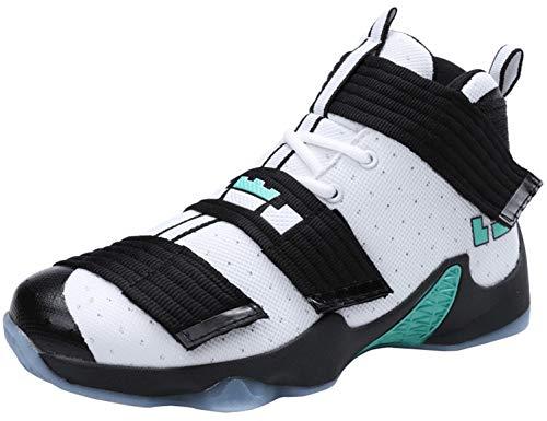 SINOES Hombres Respirable Baloncesto Zapatillas Nuevo Al Aire Libre Cima Mas Alta Zapatos Atleticos Zapatos De Running Ligeros