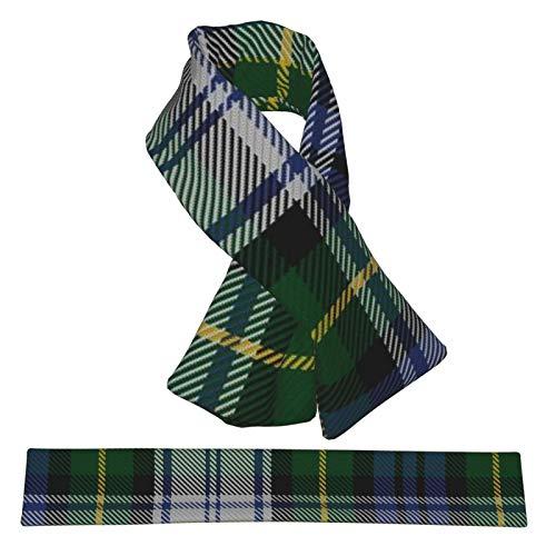 Gordon - Vestido moderno de tartán, varios colores, bufanda de franela, suave, cálida, acogedora, bufanda de invierno, bufanda cruzada para hombres y mujeres