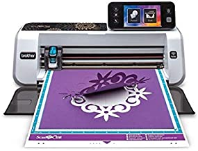 """Brother CM350 Electronic Cutting Machine, Scanncut2, 4.85"""" LCD Touch Screen, Wireless Network Ready, 300 DPI Scanner, 631 Built-in Designs (Renewed)"""