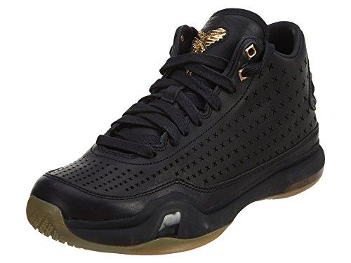 Mens Nike Kobe X 10 Mid EXT Black Metallic Gold Gum Bottom 802366-002 US 8.5