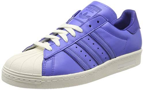 adidas Superstar 80s, Zapatillas de Gimnasia Hombre, Morado (Real Lilac/Active Blue/Off White Real Lilac/Active Blue/Off White), 40 EU