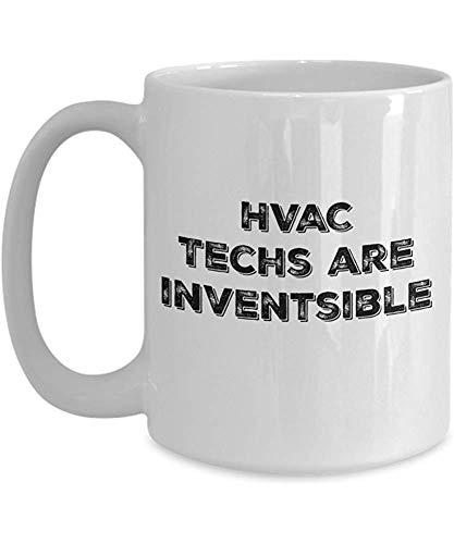 Keramische mok, HVAC Tech koffiemok - HVAC Techs zijn Inventsible