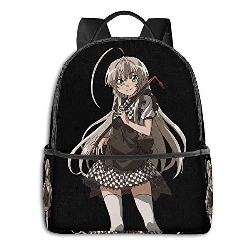 IUBBKI Anime & Haiyore! Nyaruko-San - Nyaruko - Cute - Anime Classic Student School Bag School Cycling Leisure Travel Camping Outdoor Backpack