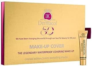 Dermacol Make Up Cover Mini Set (208,212,213,215,221) with Dermacol Sample