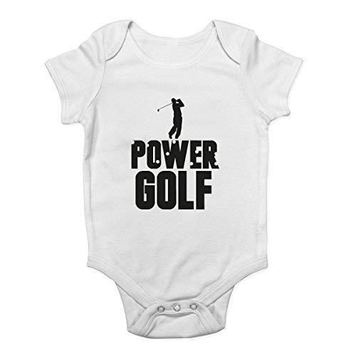 Promini Power Golf Body pour bébé - Blanc - 2 mois