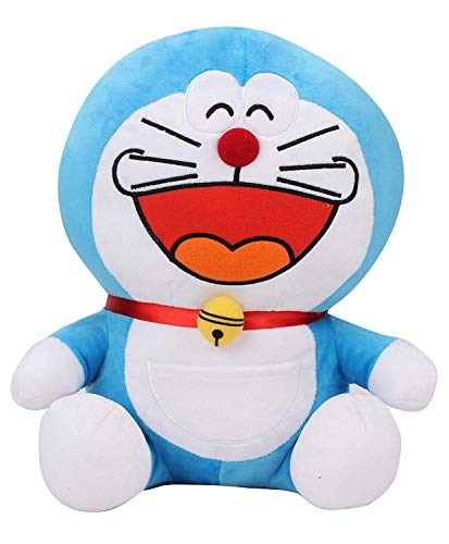 Ngel Soft Toy for Kids and Teens Blue and White 45 cm