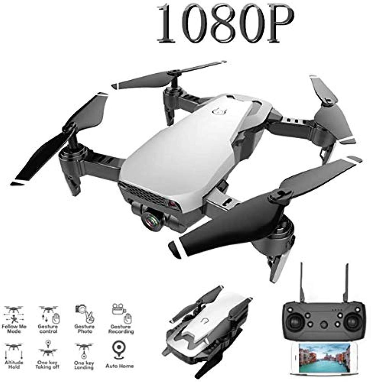 咽頭不平を言う地震ミニは、ドローンプロフェッショナルHDカメラの折り畳み式電子航空機玩具モデルクワッドローターリモートコントロール360度転動可能になサイズ,白い,4K