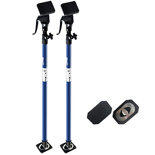 XINQIAO Support Pole, Steel Telescopic Quick Support Rod, Adjustable 3rd Hand Support System, Supports up to 154 lbs Construction Tools for Cabinet Jacks Cargo Bars Drywalls