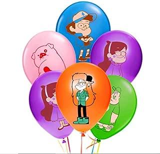 Merchant Medley 25ct Gravity Falls-Inspired Balloons - Large 12
