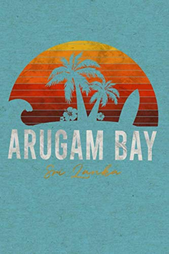 Arugam Bay Sri Lanka: Dotted Notebook | Bullet Journal A5 | Dot Grid Note Book | Note Pad 120 Page | Paper for Bullet Notes Journaling Soft Cover
