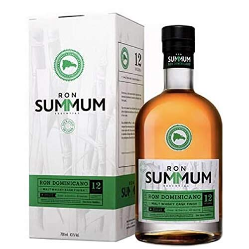 SUMMUM RON DOMINICAN 12 SOLERA WHISKY CASK 70 CL