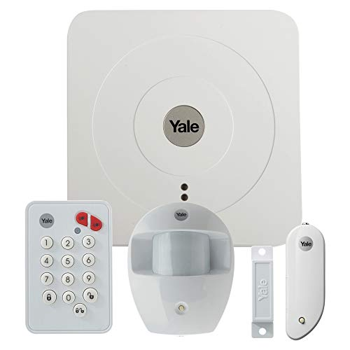 YALE 60-A100-3PET-SR-5011 Kit de Alarma, 1.5 V, Blanco