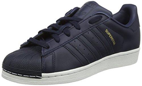 adidas Jungen Superstar Fitnessschuhe, Blau (Tinley/Gritre/Cartra 000), 36 2/3 EU
